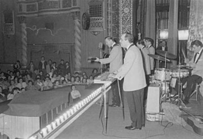 Bill Haley and the Comets onstage