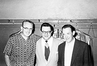 Tommy and Jimmy Dorsey with Lou