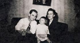 Lloyd Walsh and his Family